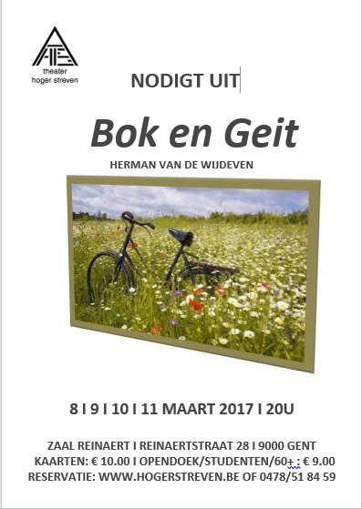 Affiche Bok en Geit